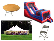 Party rentals in Fairmont MN, Southern Minnesota and Northern Iowa