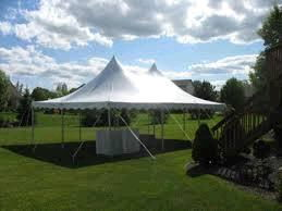 Where to find TENT, 20  X 30  WHITE -  1 in Fairmont