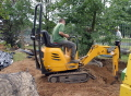 Where to rent EXCAVATOR, MINI JCB MICRO PLUS in Fairmont MN