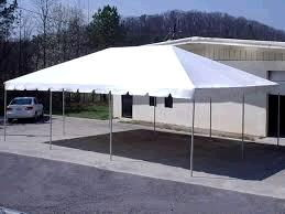 Where to find TENT, 20  X 30  WHITE FRAME in Fairmont