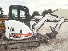Where to find EXCAVATOR, MINI BOBCAT 430 W CAB in Fairmont