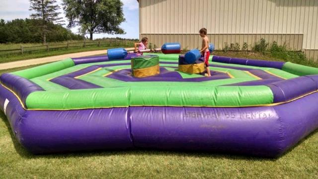 Where to find BOUNCE RIDE, JOUSTING RING in Fairmont