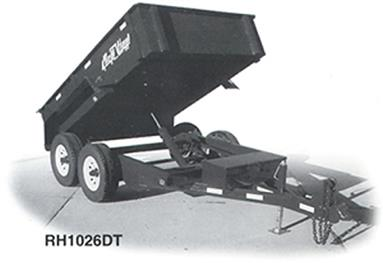 Where to find TRAILER, HYDRAULIC DUMP 4.3 YD in Fairmont